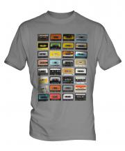 Retro Cassette Tapes Mens T-Shirt