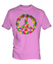 Flower Power Mens T-Shirt