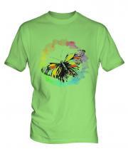 Butterfly Watercolour Mens T-Shirt