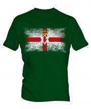 Northern Ireland Distressed Flag Mens T-Shirt