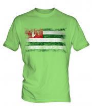Abkhazia Distressed Flag Mens T-Shirt