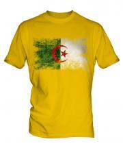 Algeria Distressed Flag Mens T-Shirt