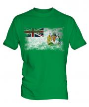 British Antartic Territory Distressed Flag Mens T-Shirt