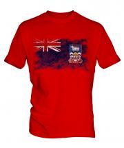 Falkland Islands Distressed Flag Mens T-Shirt