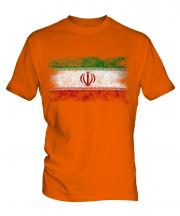 Iran Distressed Flag Mens T-Shirt