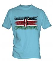 Kenya Distressed Flag Mens T-Shirt