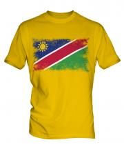 Namibia Distressed Flag Mens T-Shirt