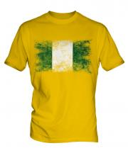 Nigeria Distressed Flag Mens T-Shirt