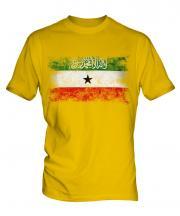 Somaliland Distressed Flag Mens T-Shirt