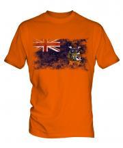 South Georgia Distressed Flag Mens T-Shirt