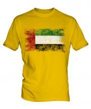 United Arab Emirates Distressed Flag Mens T-Shirt