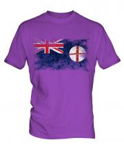 New South Wales Distressed Flag Mens T-Shirt