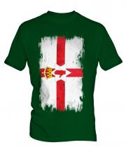 Northern Ireland Grunge Flag Mens T-Shirt