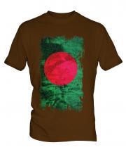 Bangladesh Grunge Flag Mens T-Shirt