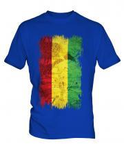 Bolivia Grunge Flag Mens T-Shirt