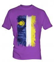 Buryatia Grunge Flag Mens T-Shirt