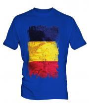 Chad Grunge Flag Mens T-Shirt