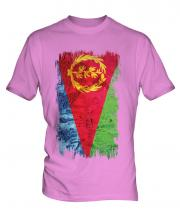 Eritrea Grunge Flag Mens T-Shirt
