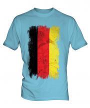 Germany Grunge Flag Mens T-Shirt