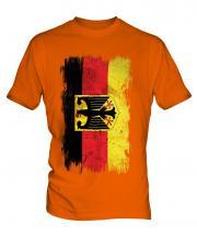 Germany State Grunge Flag Mens T-Shirt