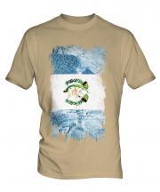 Guatemala Grunge Flag Mens T-Shirt