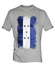 Honduras Grunge Flag Mens T-Shirt