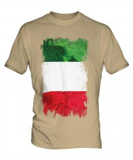 Italy Grunge Flag Mens T-Shirt