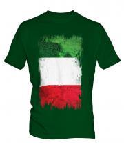 Italy Grunge Flag Mens T-Shirt