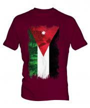 Jordan Grunge Flag Mens T-Shirt