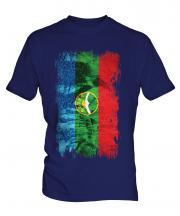 Karachay-Cherkessia Grunge Flag Mens T-Shirt