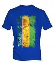 Karakalpakstan Grunge Flag Mens T-Shirt