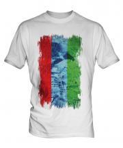 Karelia Grunge Flag Mens T-Shirt