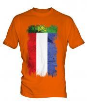 Khakassia Grunge Flag Mens T-Shirt
