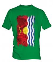 Kiribati Grunge Flag Mens T-Shirt