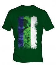 Komi Grunge Flag Mens T-Shirt