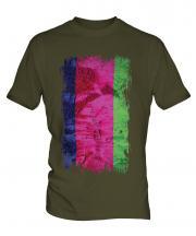 Kuban Peoples Republic Grunge Flag Mens T-Shirt