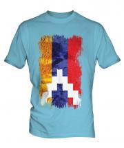 Nagorno-Karabakh Republic Grunge Flag Mens T-Shirt