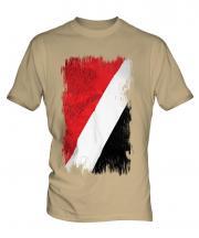 Sealand Grunge Flag Mens T-Shirt