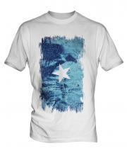 Somalia Grunge Flag Mens T-Shirt