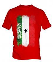 Somaliland Grunge Flag Mens T-Shirt