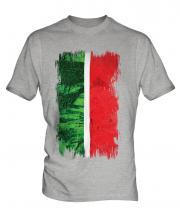 Tatarstan Grunge Flag Mens T-Shirt