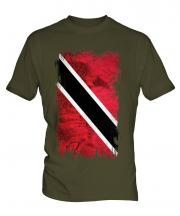 Trinidad And Tobago Grunge Flag Mens T-Shirt