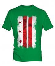 Washington Dc Grunge Flag Mens T-Shirt