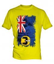South Australia Grunge Flag Mens T-Shirt