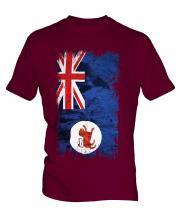 Tasmania Grunge Flag Mens T-Shirt