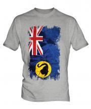 Western Australia Grunge Flag Mens T-Shirt