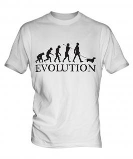Dachshund Evolution Mens T-Shirt
