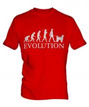 Afghan Hound Evolution Mens T-Shirt