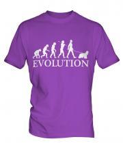 American Cocker Spaniel Evolution Mens T-Shirt