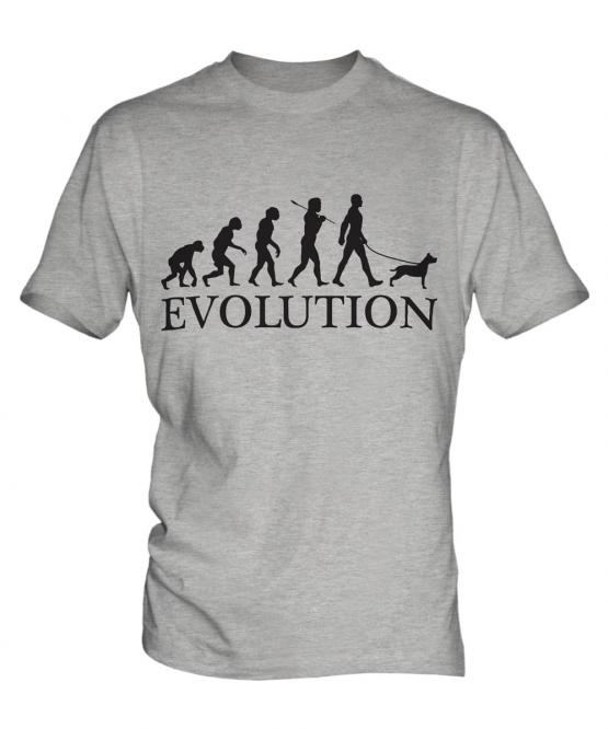 Staffordshire Terrier Evolution Mens T-Shirt